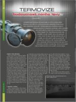 Termovize – budoucnost nočního lovu
