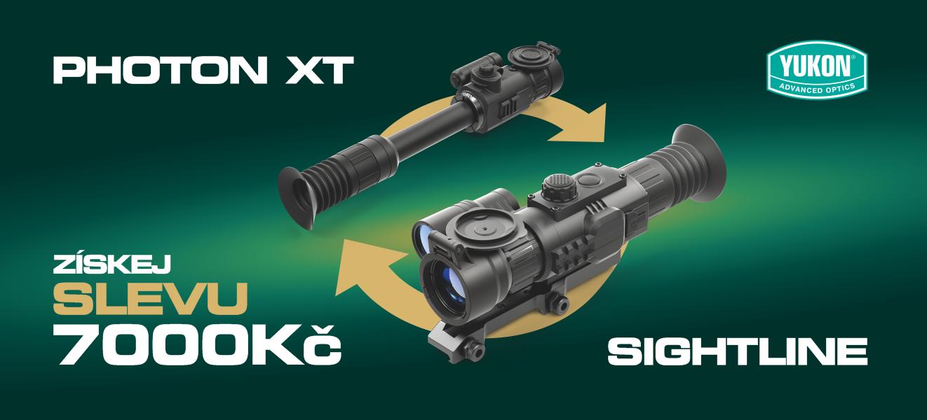 Akce vyměna Photon XT - Sightline
