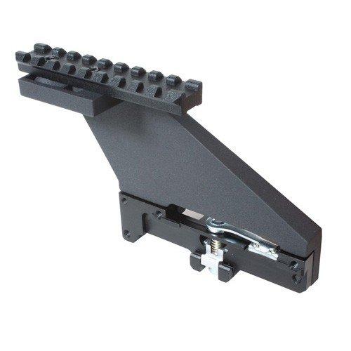 Boční montáž puškohledu