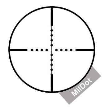 Záměrný kříž MilDot