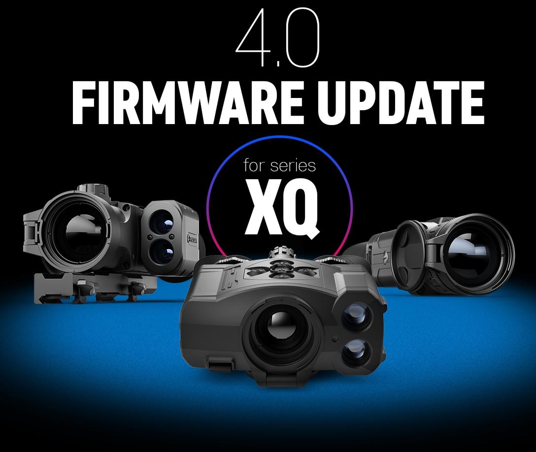 Aktualizace firmware 4.0 pro modelé XQ