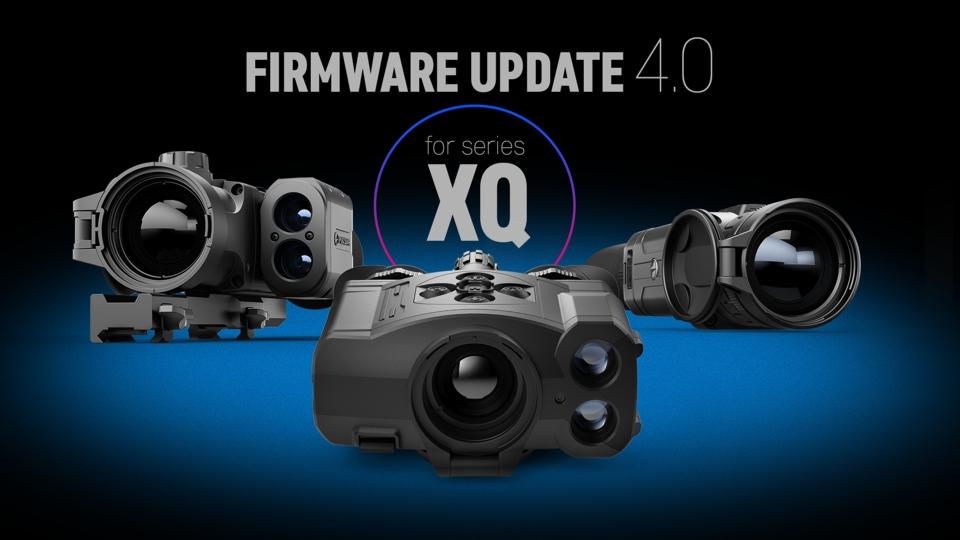 Aktualizace firmwaru 4.0 pro termovize řady XQ